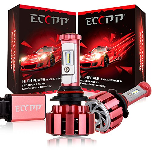 Buy Bargain LED Headlights,ECCPP Upgraded LED Headlight Bulbs Jeep Wrangler Headlight Conversion Kit...