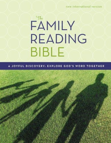 NIV, Family Reading Bible, Hardcover: A Joyful Discovery: Explore God's Word Together - Family Bible Reading