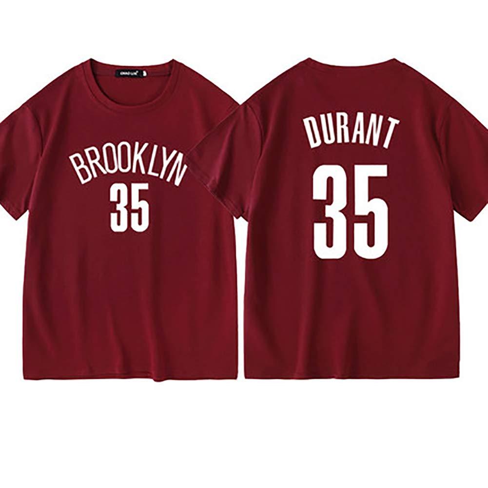 Kyrie Irving n 35 Brooklyn Nets Fan in Edizione Limitata i Fan limitati devono Avere Maniche Corte in Cotone Assorbente 11 Maglia Kevin Durant No