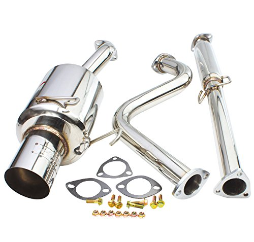 Stainless Steel Catback Exhaust System 4