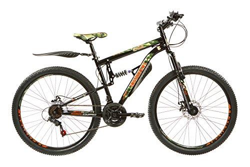 RAD Insurgent, Mens Full Suspension Mountain Bike, 21 Speed, 27.5 Inch...
