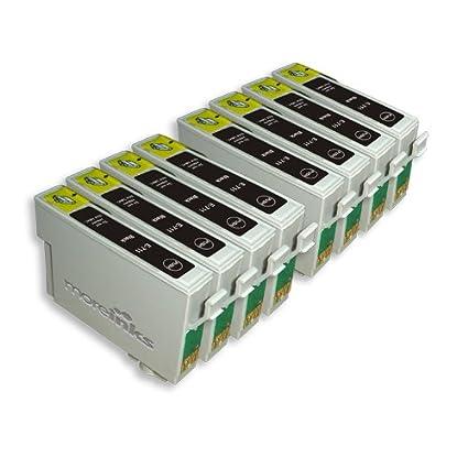 8 cartuchos de tinta para impresora Epson Stylus DX400 ...
