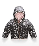 The North Face Infant Reversible Perrito Jacket, Periscope Grey Confetti Print , 0-3 Months