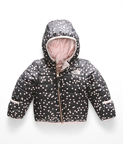 - The North Face Kids Unisex Reversible Perrito Jacket (Infant) Periscope Grey Confetti Print 6-12 Months