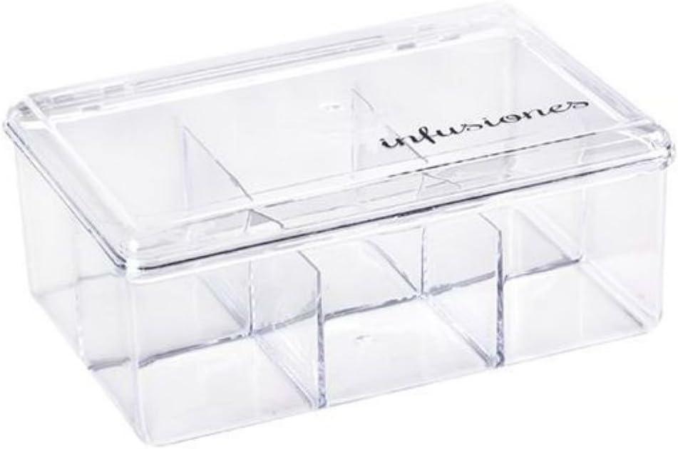 CB 17805 Caja plástico infusiones, Varios, TU: Amazon.es: Hogar