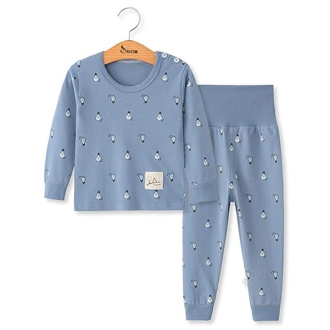 69e450a43 DOTDOT Conjuntos de Pijama para Bebés Niños Niña, Bebés Unisex 2PC Manga  Larga Top Pantalones