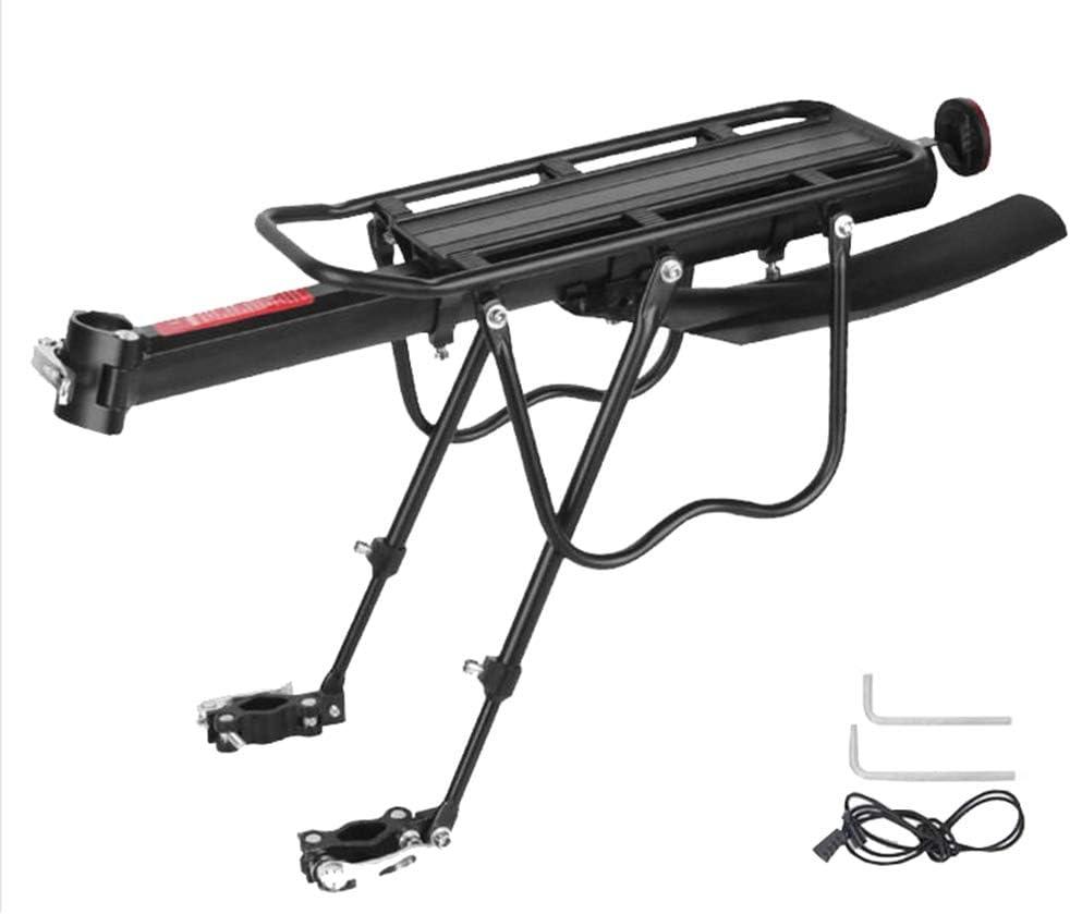 YiLianDaD Bicicleta Portabultos Portaequipajes Trasera de Aluminio ...