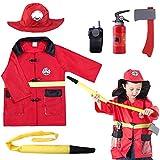 iPlay, iLearn Kids Fire Chief Costume, Halloween