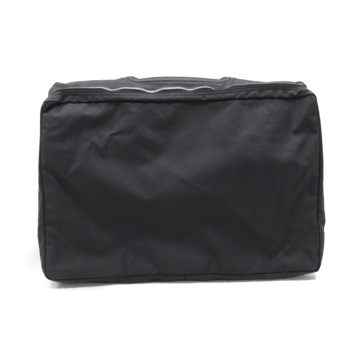[エルメス] HERMES ビジネスバッグカバー ブラック キャンバス [中古]   B07KDDZ16Y