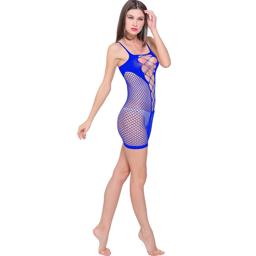 Luckycat Lencería Sexy de Mujer Mallas sin Entrepierna Babydoll Bodysuits Ropa de Dormir: Amazon.es: Ropa y accesorios