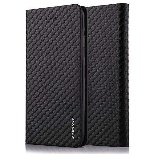 tanxainewiduixi Samsung, Kunstleder, schwarz, Samsung Galaxy A3 2017