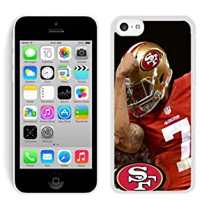 Excellent protection Colin Kaepernicking White Cover Case For iPhone 5C