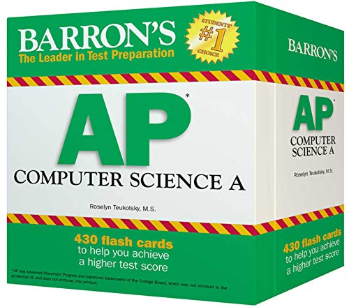 Barron's AP Computer Science A Flash Cards