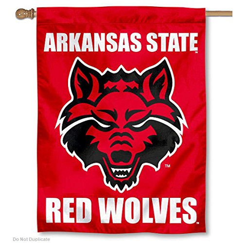Arkansas State University Double Sided House Flag