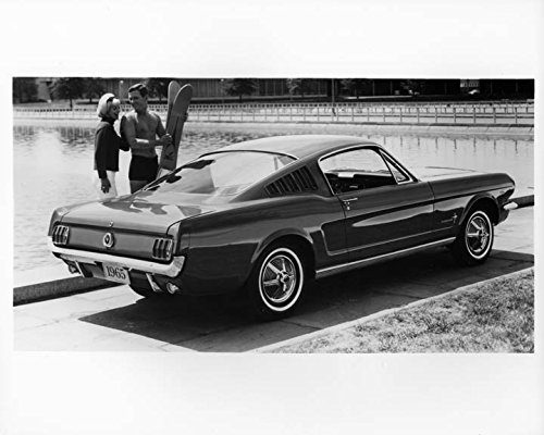 1965 Ford Mustang Automobile Photo Poster from AutoLit