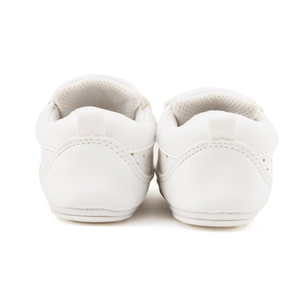 DELEBAO Babyschuhe Krabbelschuhe Turnschuhe Lauflernschuhe Weiche Sohle Baby Schuhe Lederschuhe Erste Kinderschuhe Kleinkind f/ür M/ädchen Jungen