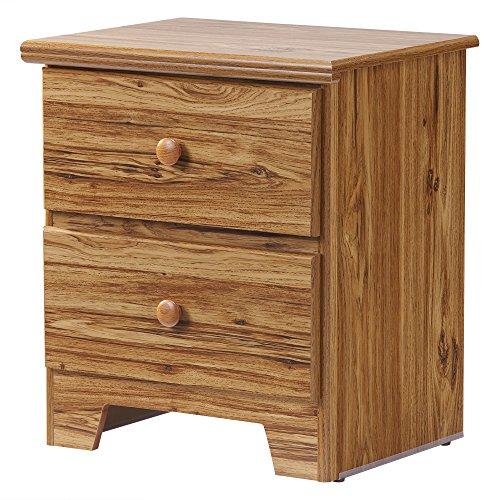 Wildon Home Lang Furniture Shaker 2-Drawer Night Stand wi...