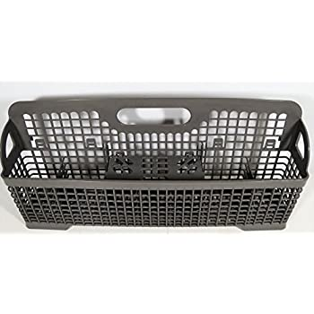 Exceptionnel Genuine KitchenAid Dishwasher Replacement Silverware Plastic Basket  W/Center Flap 8531288