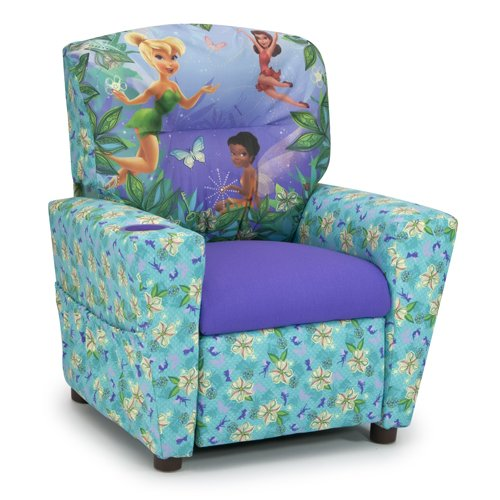 Kidz World Disneys Fairies Kids Recliner 446605, Multi-Colored by Kidz World