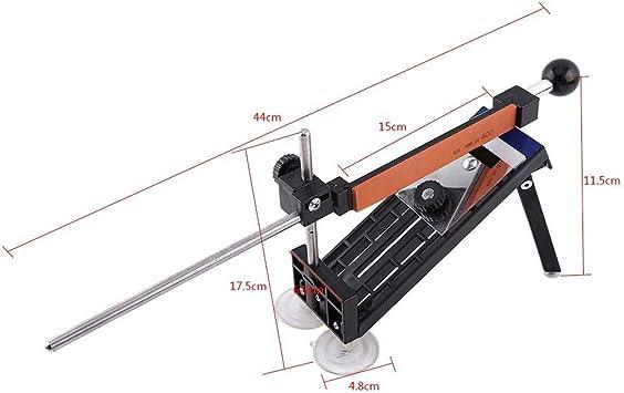 WINOMO determinado /ángulo fijo-Afilador de cuchillo de cocina con sistema Piedra de afilar