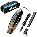 Car Vacuum Cleaner,Hikeren 12V 75W Black Car Vacuums Mini...