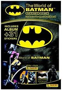 Panini El Mundo De Batman Etiqueta Colección Starter Pack: Amazon ...