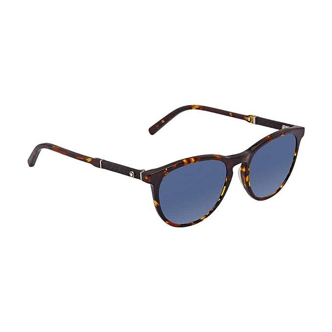 Gafas de sol Montblanc MB588S C52 55V (coloured havana ...