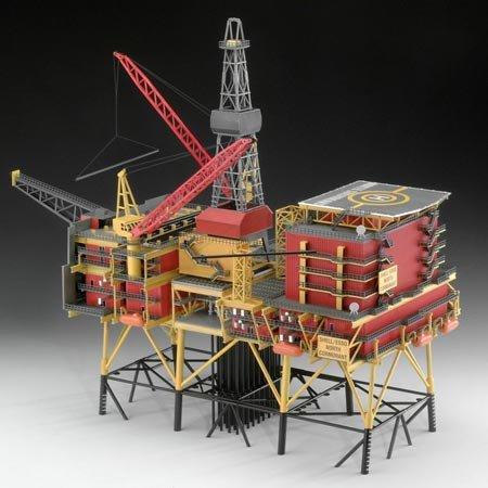 Revell 08803 1/200 Oil Rig North Cormorant