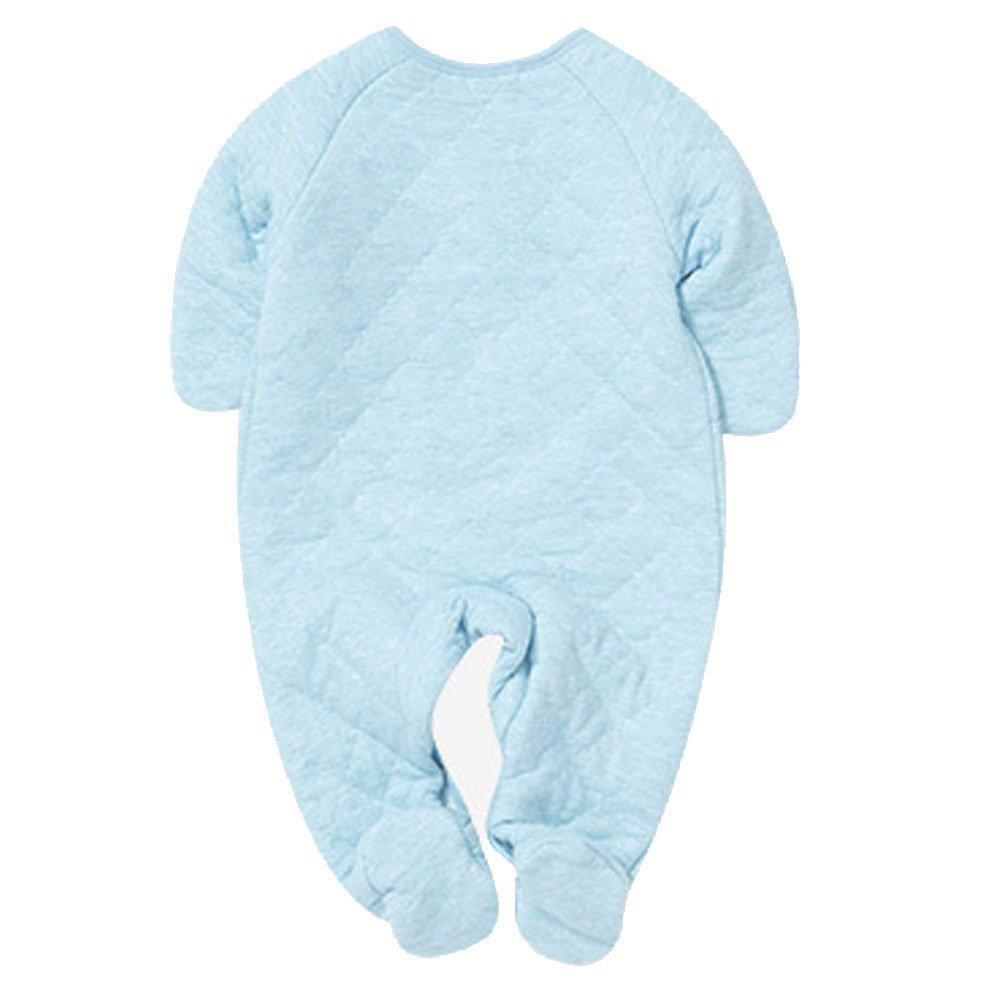 ARAUS Recién Nacido Pijama Bebés Algodón Mameluco Niñas Niños Peleles Sleepsuit Trajes 0-6 Meses: Amazon.es: Ropa y accesorios