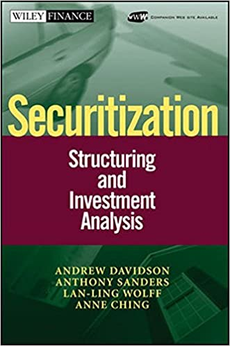 Securitization Structuring And Investment Analysis Andrew