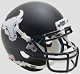 Schutt NCAA Buffalo Bulls Mini Authentic XP Football Helmet, Matte Black Alt. 4, Mini
