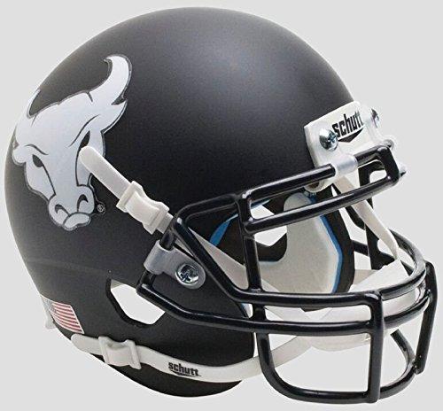 Schutt NCAA Buffalo Bulls Mini Authentic XP Football Helmet, Matte Black Alt. 4, Mini by Schutt