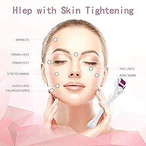 YMR Beauty 540 Micro Needles Titanium Microneedle Derma Roller Needle Skin Care Personal care Facial Skin Care Tools beauty kits(0.5mm)-DSA