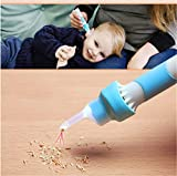 WLIXZ Ear Cleaner, Earwax Removal Kit, Portable Automatic Electric Vacuum Ear Wax Suction Device, for Kids and Adults