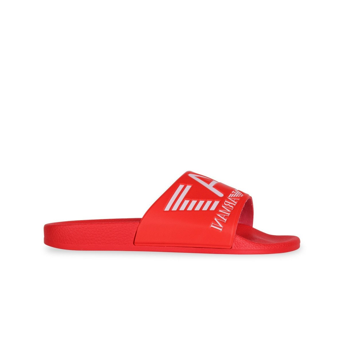 949ae233878c Emporio Armani EA7 Red Slides Slippers 905012 8P215 6(40)  Amazon.co.uk   Shoes   Bags