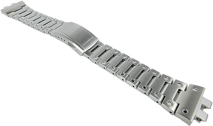 Casio G Shock Bracelet de montre de rechange en acier  JCt0x