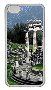 Apple iPhone 5C Cases & Covers - Temple Of Athena PC Case for Apple iPhone 5C Transparent
