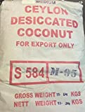 Organic Ceylon Desiccated Coconut-Medium Shred 25 LBS.