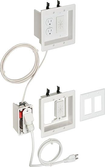 arlington tvbra2k 1 in wall wiring kit pre wired tv bridge 2 arlington tvbra2k 1 in wall wiring kit pre wired tv bridge