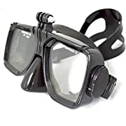 Amazon Lightning Deal 87% claimed: Scuba Dive Mask with Mount for GoPro Hero 2/3/4 SJ4000 SJ5000 and AceCam Action Cameras