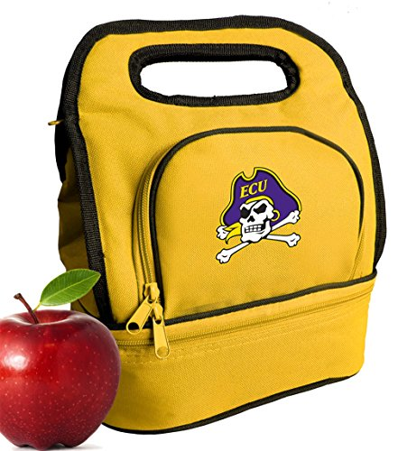 Broad Bay East Carolina University Lunch Bag Cooler Two Section ECU Lunchboxes