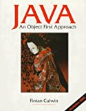 img - for Java: An Object First Approach by Fintan Culwin (1997-10-29) book / textbook / text book