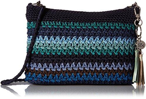 The Sak Casual Classic 3-in-1 Demi, Atlantis Stripe - Handbag Clutch Convertible