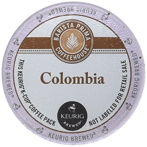 - Barista Prima Coffeehouse Coffee, Keurig K-Cups, Colombia, 48 Count