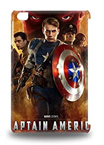 Top Quality Rugged Hollywood Captain America The First Avenger Captain America Sci Fi Adventure Action 3D PC Case Cover For Ipad Mini/mini 2 ( Custom Picture iPhone 6, iPhone 6 PLUS, iPhone 5, iPhone 5S, iPhone 5C, iPhone 4, iPhone 4S,Galaxy S6,Galaxy S5,Galaxy S4,Galaxy S3,Note 3,iPad Mini-Mini 2,iPad Air )