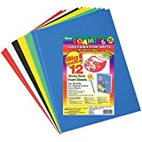 Darice Sticky Back Foam Sheets, 9 by 12-Inch, 12-Pack