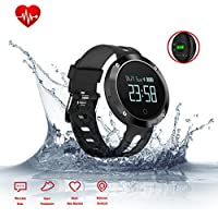 Fitness Tracker Waterproof Smartphones Dm58 Black Price