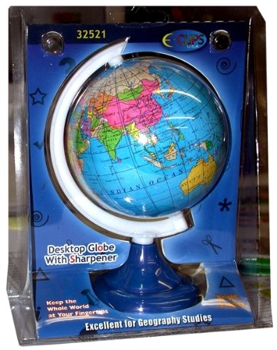 Globe Pencil Sharpener - 5'' High Case Pack 48