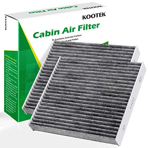 Kootek Car Cabin Air Filter Replacement for CF10285 with Active Carbon for Toyota/Lexus/Scion/Subaru, against Bacteria Dust Viruses Pollen Gases Odors, 2 Pack (Best Automotive Air Filter)