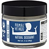 Primal Pit Paste Natural Deodorant, Aluminum Free, Paraben Free, No Added Fragrances, Royal & Rogue Jar